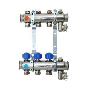 PLANCHER CHAUFFANT 4 ports chauffage le sol collecteur avec vannes