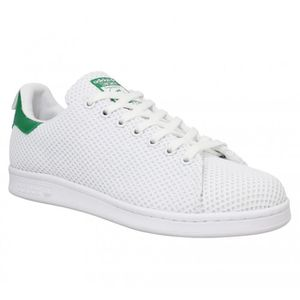 basket adidas stan smith og blanc et rouge