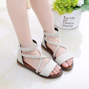 c3de2195cf3 SANDALE - NU-PIEDS Sandales enfants cool d été Chaussures fille mode