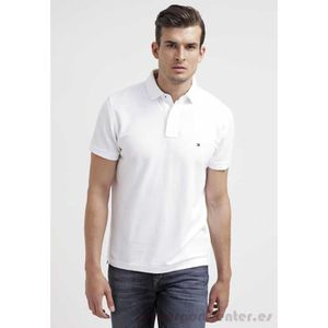 POLO POLO TOMMY HILFIGER R.FIT Homme BLANC