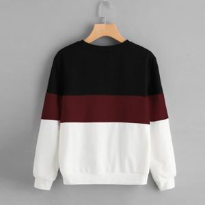 SWEATSHIRT amour@ Femmes manches longues coupe Sew Pull à ray