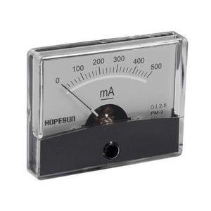 MULTIMÈTRE Amperemetre analogique de tableau 500ma cc / 60 x