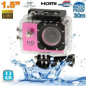 CAMÉRA SPORT Caméra sport étanche 30m caméra action Full HD 108
