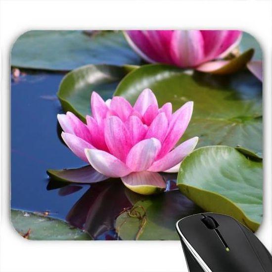 Fleur De Lotus tapis de souris - fleur de lotus - prix pas cher - cdiscount