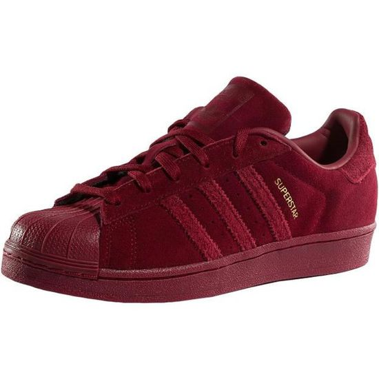 Adidas Femme Chaussures / Baskets Superstar Sneakers / Rouge Rouge - Achat / Sneakers Vente basket 7d63b0