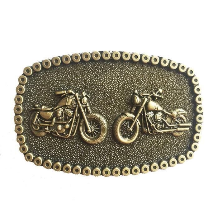 Boucle de ceinture 2 moto et tour en chaine de moto doré - Achat ... 1474f7e150b