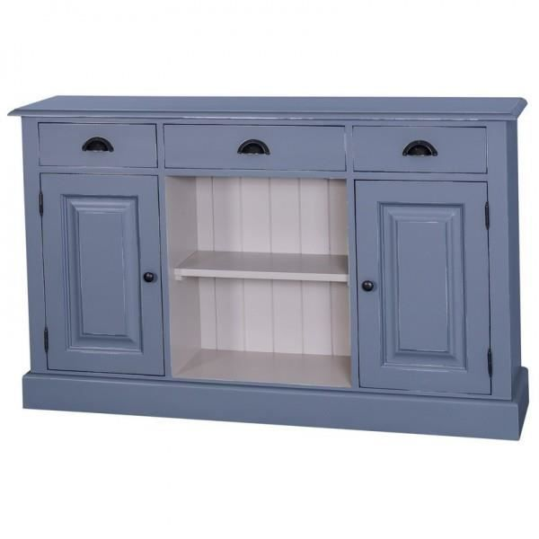 Casa Padrino Shabby Chic Cottage Style Sideboard With Shelves