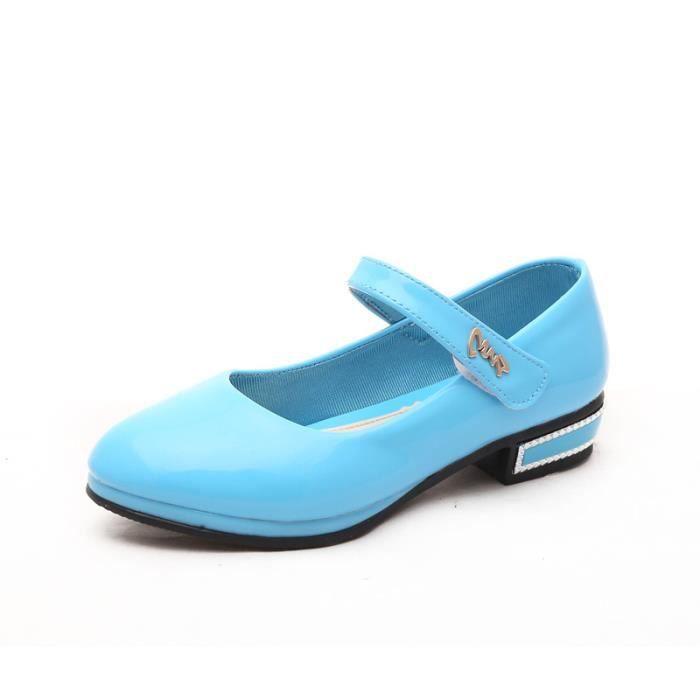 IZTPSERG chaussures Velcro Ballerine couleur bo... Ij22mg