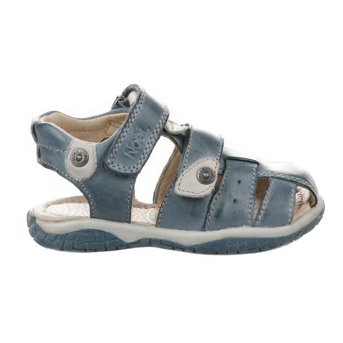 Nu-pieds garçon - BOPY - Bleu - EBOOGIE - Millim PTmLdjf