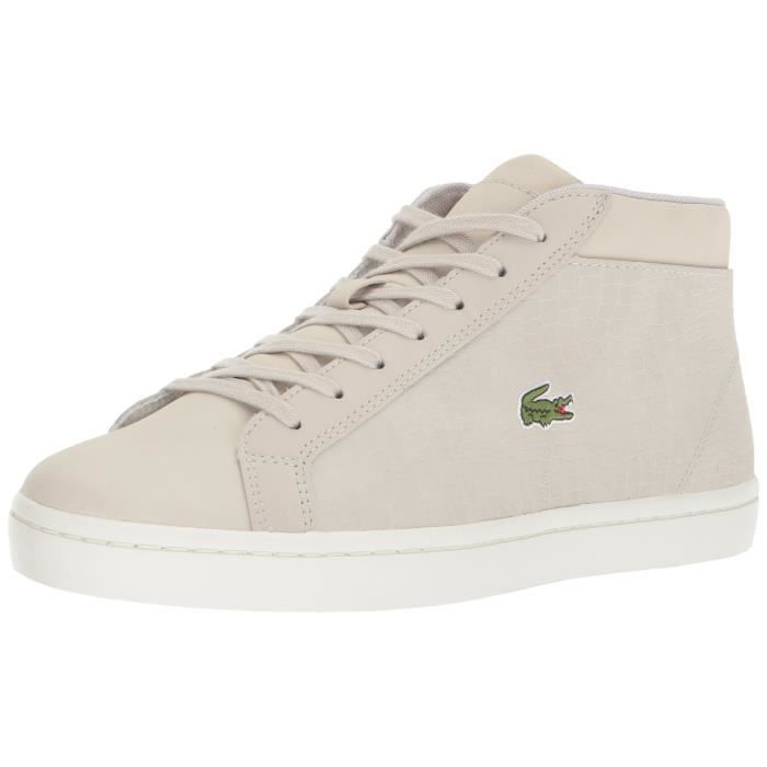 f5b7bd1499 Lacoste Straightset Sp Chuk 417 1 espadrille QFPSL Taille-39 Gris ...