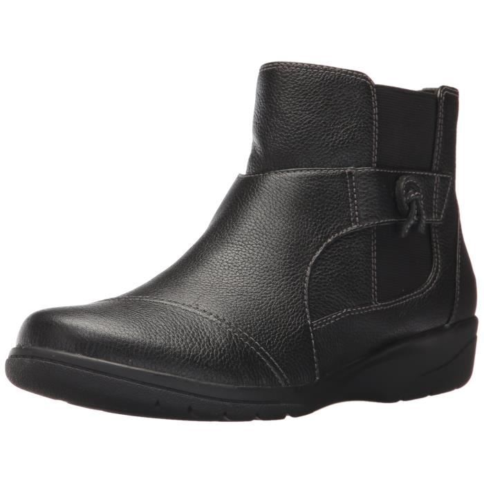 Women's Gdhxh 38 Cheyn 1 Work Bootie Ankle Clarks 2 Taille f7mY6yvbIg