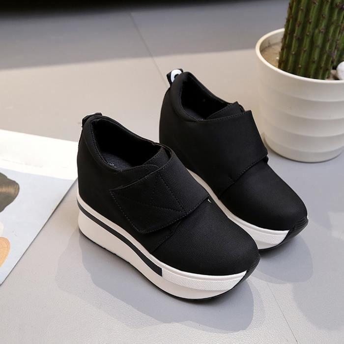 Plate On Chaussures Casual Cheville Xym71223902bk39 Compensées Pilerty®femmes Noir Slip De forme Bottes xS0IqI