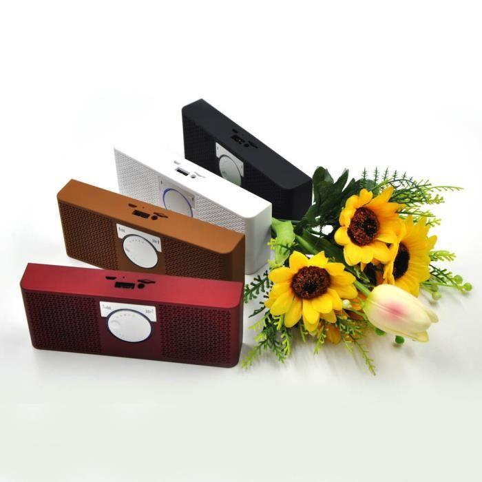Mini Stéréo Portable Sans Fil Bluetooth Haut-parleur Pour Pocket Pc Tablet Bk @5734