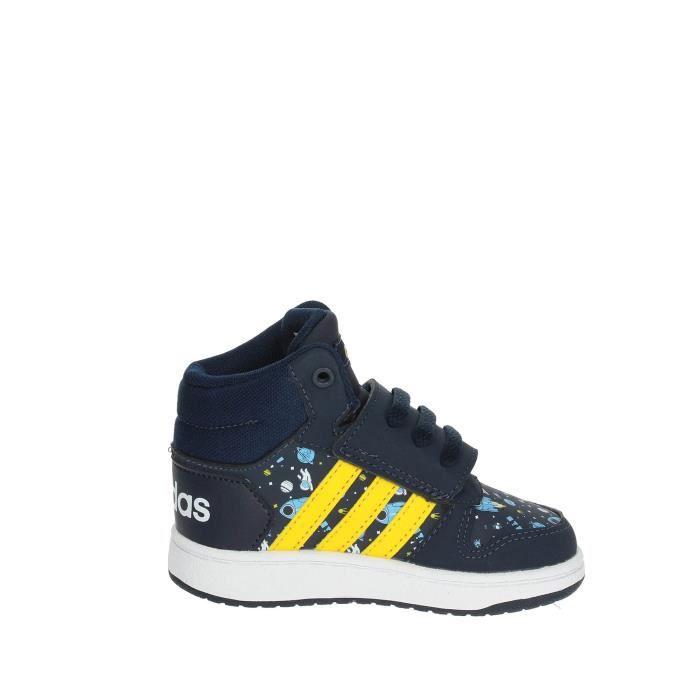 Adidas Haute Sneakers Garçon Bleu/Jaune, 20