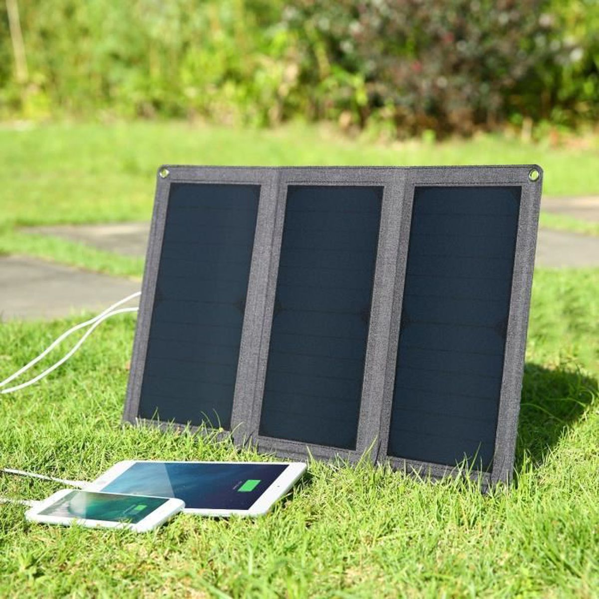 KIT CHARGEUR Aukey Chargeur solaire avec 21 W et faltbaren Sunp