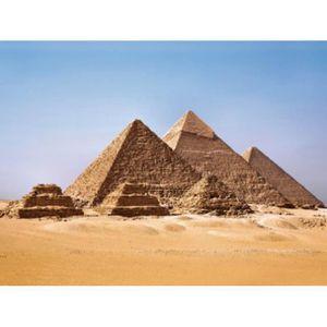OBJET DÉCORATION MURALE Egypte Papier Peint Photo/Poster - Les Pyramide…