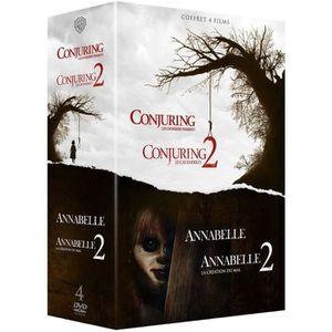 DVD SÉRIE Coffret DVD Horreur 4 films : Annabelle 1 et 2, Co
