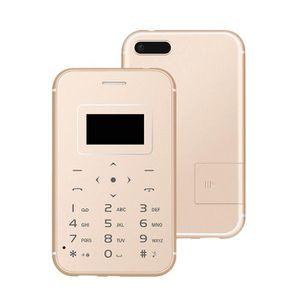 Téléphone portable Carte téléphone débloqué portable 4.8mm Ultra Thin