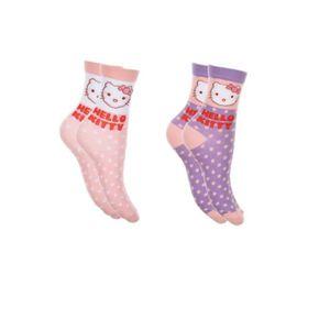 CHAUSSETTES 2 paire de chaussettes HELLO KITTY 27/30