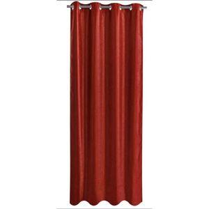 rideau occultant rouge 140x260 cm achat vente rideau soldes d s le 10 janvier cdiscount. Black Bedroom Furniture Sets. Home Design Ideas