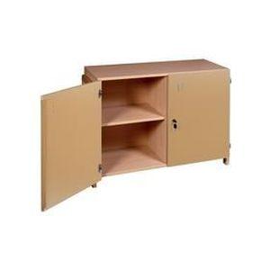 armoire basse en bois achat vente armoire basse en. Black Bedroom Furniture Sets. Home Design Ideas