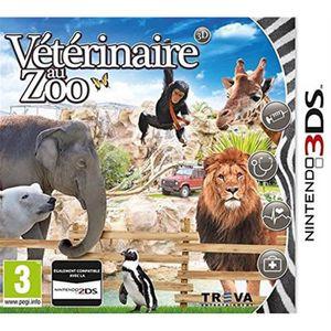 JEU 3DS Vétérinaire au Zoo 3D 3DS