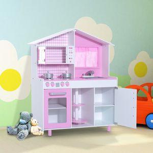 DINETTE - CUISINE Cuisine pour enfants en bois jeu jouet d'imitation