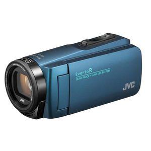CAMÉSCOPE NUMÉRIQUE JVC GZ-R495AEU Caméscope - Etanche - Bleu