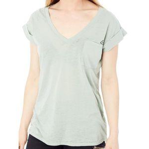 T-SHIRT T-Shirt à poche Femme Fox Whirlwind Sage