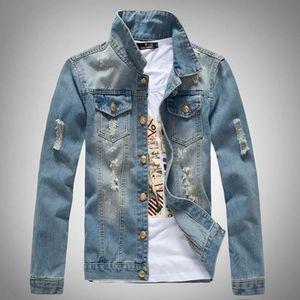 Vente En Veste Dechirer Achat Cher Jeans Pas dHUnUxCZ