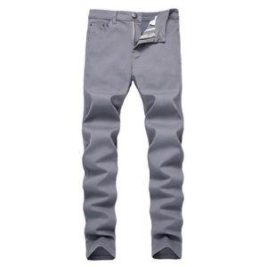 JEANS Jeans Homme Slim Fit Élasticité 5 Poches Pantalon