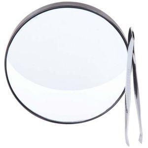 Miroir grossissant de poche achat vente miroir grossissant de poche pas cher cdiscount for Miroir loupe