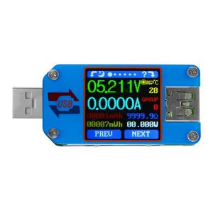 MULTIMÈTRE XCSOURCE UM25 USB 2.0 Type-C Couleur LCD Testeur d