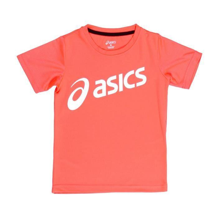 ASICS T-shirt d'Entrainement K's Essentials - Rose saumon