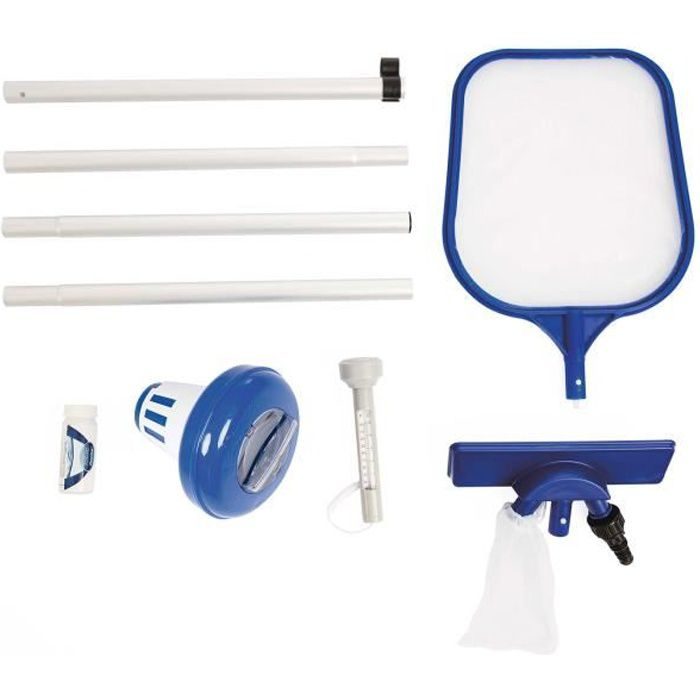 BESTWAY Kit de nettoyage 6 pièces pour piscine