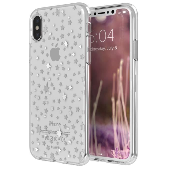 Coque iPlate Starry Nights pour iPhone X