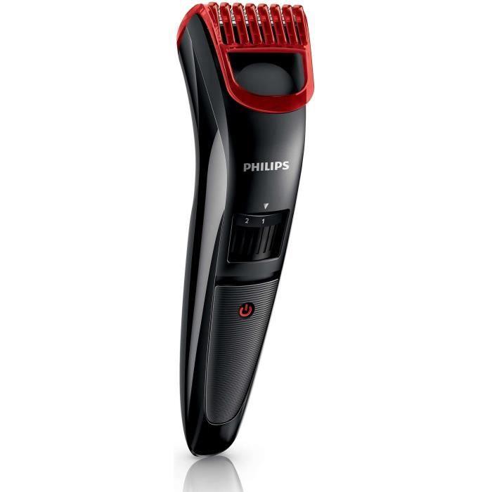 PHILIPS Tondeuse barbe électrique QT4004/16 Series 3000 - Noir