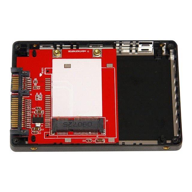 STARTECH Boîtier SSD avec adaptateur intégré mSATA vers SATA de 2,5\