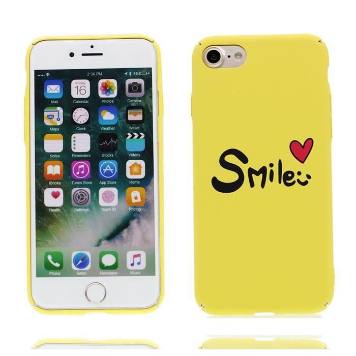 coque iphone 8 plus smile