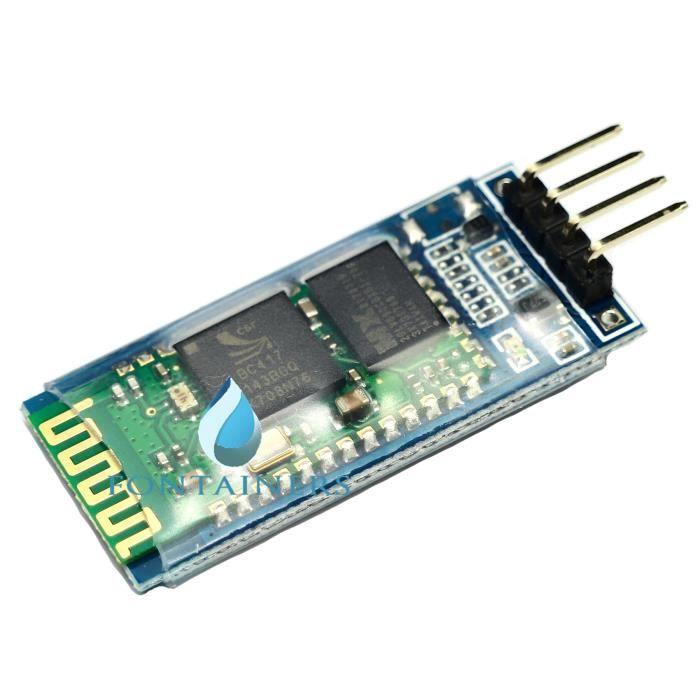 FontaineRs HC-06 Sans fil Bluetooth Serial Transceiver Module esclave série  hc06 Pour Arduino 1pcs