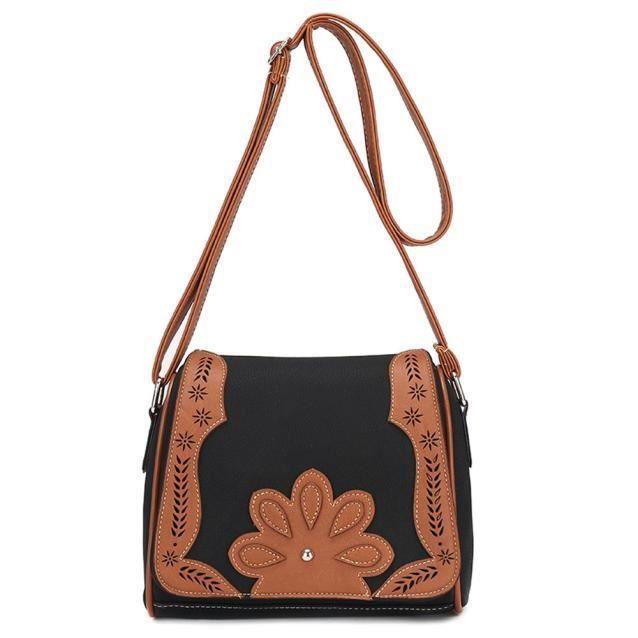 Sac à bandoulière femmes Fourre-tout en cuir épaule Satchel Messenger sac Oreiller @LP_3844