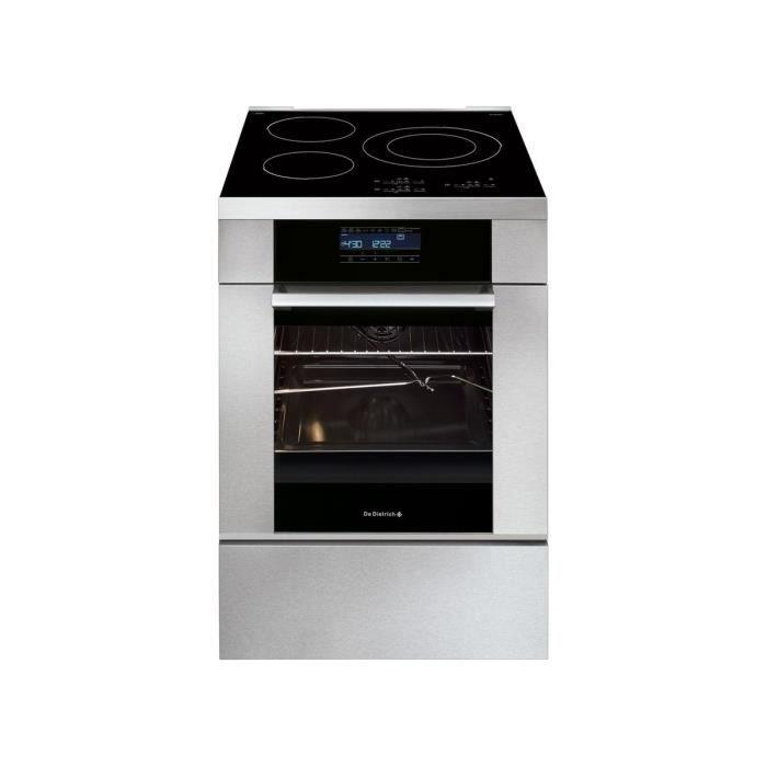 CUISINIÈRE - PIANO Cuisinière 60cm induction DE DIETRICH DCI1583X