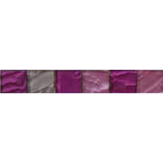 CARRELAGE - PAREMENT Listel en pate de verre -- 5 x 30 cm - Violet