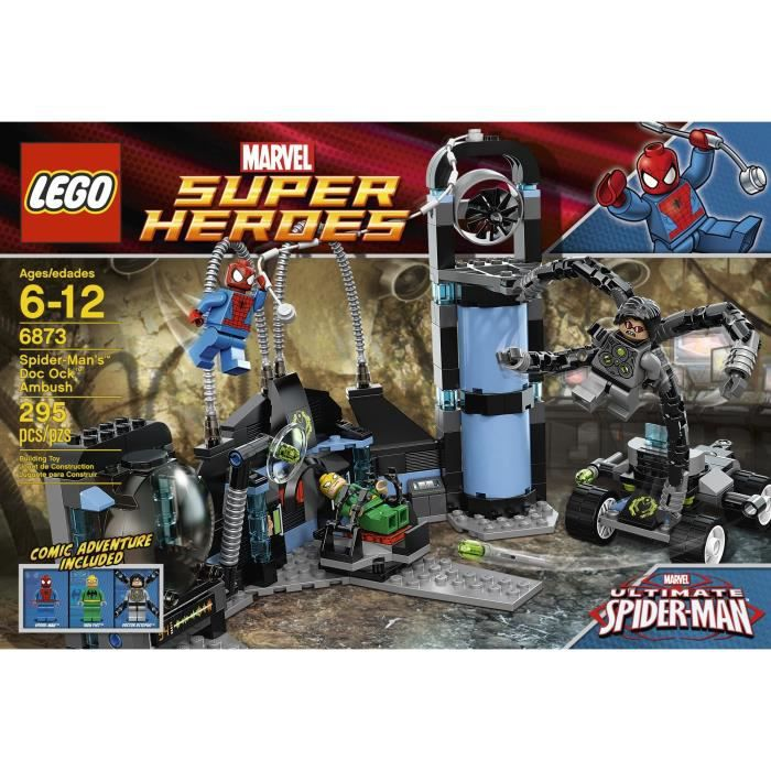 Lego super heroes marvel 6873 spider man tm achat - Jeux lego spiderman gratuit ...