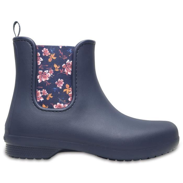 bd027cabbce Crocs Freesail Chelsea Boot W - La chaussure femme en synthétique ...