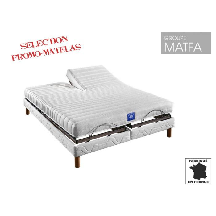 sommier relaxation manuelle 2 x 70 x 190 : - achat / vente sommier