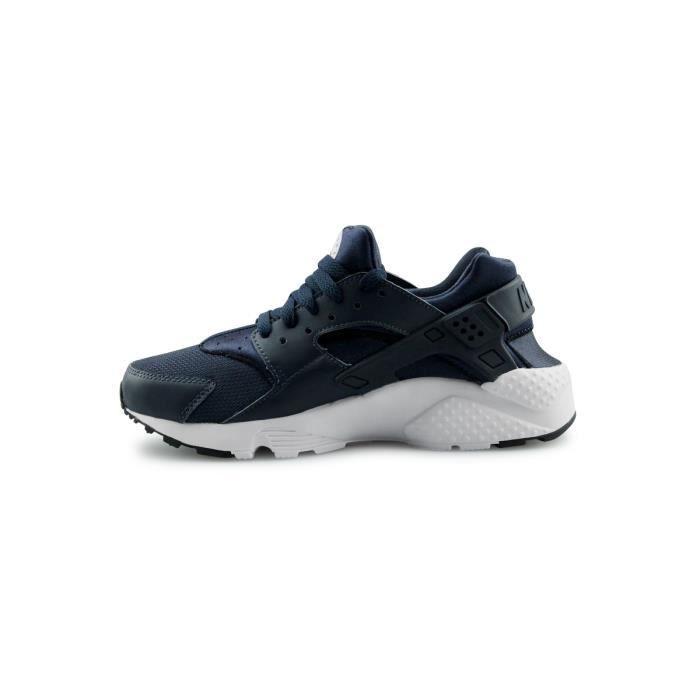 Basket Nike Air Huarache Run Junior Bleu 654275-410