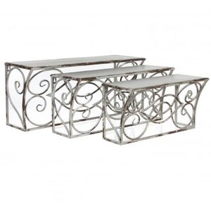 Affordable etagre murale grande etagre epices support mural console mura uua with grande table - Support mural table a repasser ...
