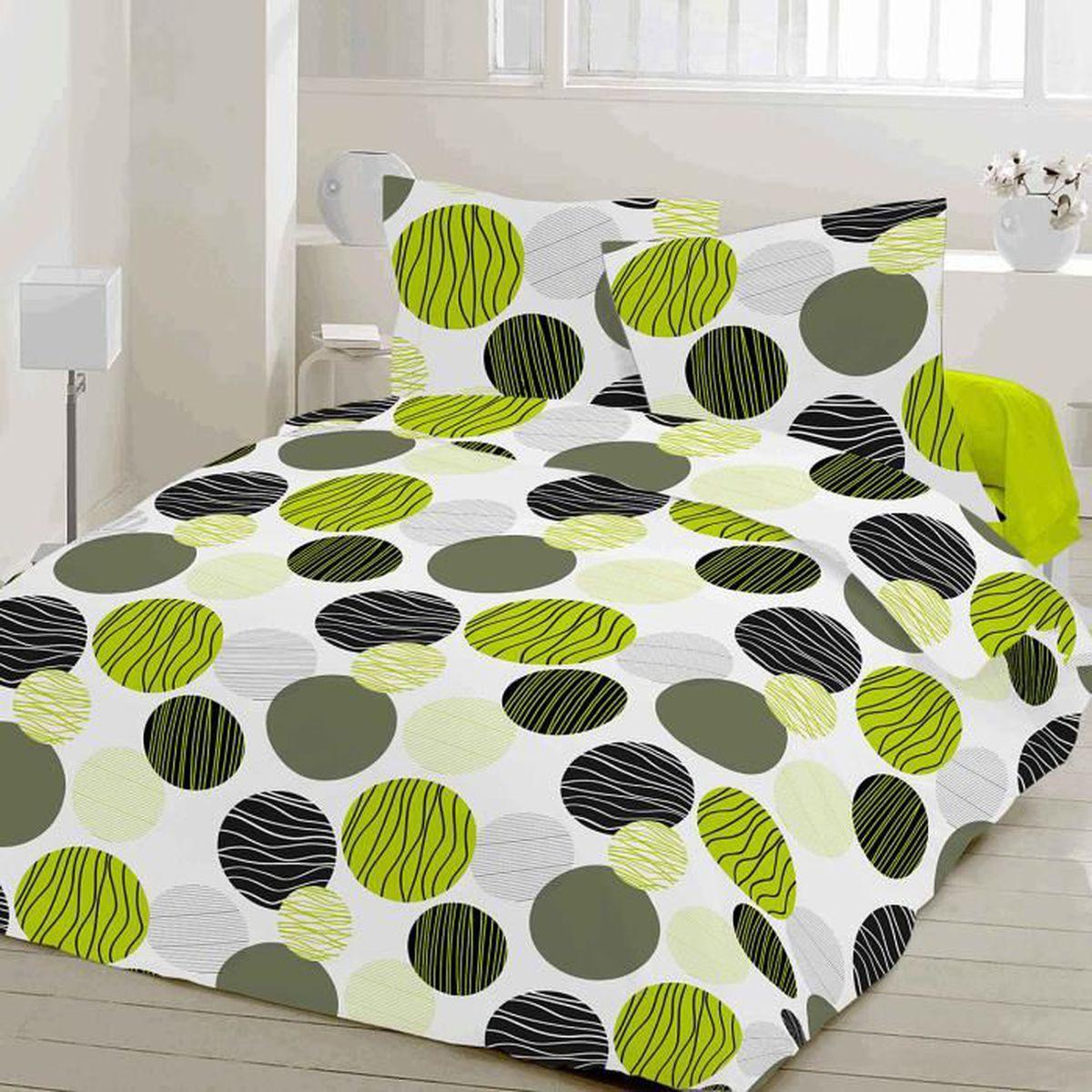 fresh soulbedroom 100 coton parure de lit housse de couette 200x200 cm 2 taies d 39 oreiller. Black Bedroom Furniture Sets. Home Design Ideas