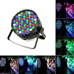 LAMPE ET SPOT DE SCÈNE 54 x 3W Lampe de scène LED par lumière RGBW DJ aut